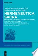 Hermeneutica Sacra