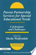 Parent Partnership Services for Special Educational Needs