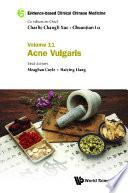Evidence Based Clinical Chinese Medicine Volume 11 Acne Vulgaris