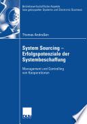System Sourcing - Erfolgspotenziale der Systembeschaffung