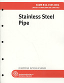 Stainless Steel Pipe 2004