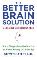 download ebook the better brain solution pdf epub