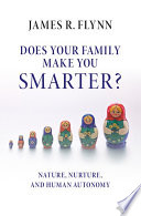 Does your Family Make You Smarter