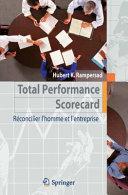 illustration du livre Total Performance Scorecard