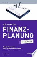 Die richtige Finanzplanung   simplified