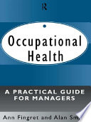 Occupational Health  A Practical Guide for Managers