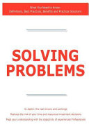 Solving Problems   What You Need to Know