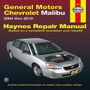 General Motors Chevrolet Malibu 2004 Thru 2010