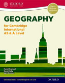 Geography for Cambridge International as   a Level Student Book