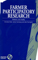Farmer Participatory Research