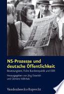 NS-Prozesse und deutsche Öffentlichkeit