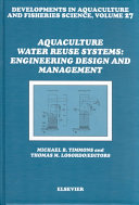 Aquaculture Water Reuse Systems  Engineering Design and Management