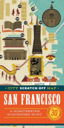 City Scratch-Off Map: San Francisco
