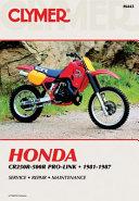 Honda Cr250 500r Pro Link 81 87