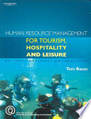Human Resource Management for Tourism  Hospitality and Leisure