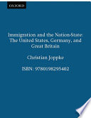 Immigration and the Nation state