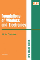 download ebook foundations of wireless and electronics pdf epub