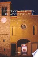 ESTATE CONCERTISTICA DI LAMOLE 1989   2018