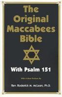 The Original Maccabees Bible