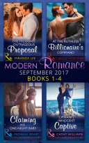 Modern Romance September 2017 Books 1   4  Mills   Boon e Book Collections