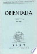 Orientalia  Vol  2