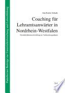 Coaching für Lehramtsanwärter in Nordrhein-Westfalen
