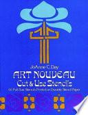 Art Nouveau Cut and Use Stencils