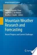 Mountain Weather Research And Forecasting book