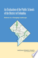 An Evaluation Of The Public Schools Of The District Of Columbia