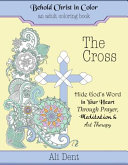The Cross Adult Coloring Book