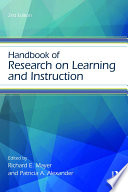 Handbook of Research on Learning and Instruction