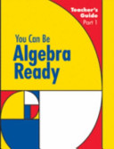 You Can Be Algebra Ready