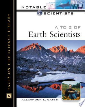 A to Z of Earth Scientists - ISBN:9781438109190
