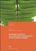 Materiali di ricerca sulla medicina tradizionale in area nzema (Ghana)