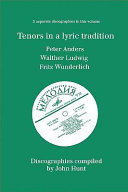 Tenors In A Lyric Tradition