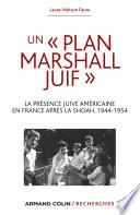 Un « Plan Marshall » juif
