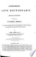 Ainsworth's Latin Dictionary