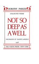Collected poems  Not so deep as a well