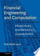 Financial Engineering and Computation