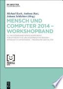 Mensch & Computer 2014 – Workshopband