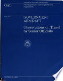 Government Aircraft