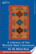 A Library of the World s Best Literature   Ancient and Modern   Vol  XII  Forty Five Volumes   Diderot Duruy