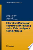 International Symposium On Distributed Computing And Artificial Intelligence 2008 Dcai 08
