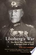 Lossberg s War