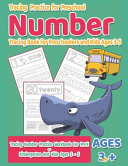 Number Tracing Book For Preschoolers And Kids Ages 3 5 Tracing Practice For Preschool