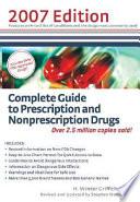 Complete Guide to Prescription and Nonprescription Drugs
