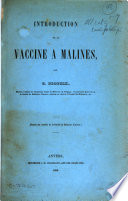 Pamphlets on Vaccination