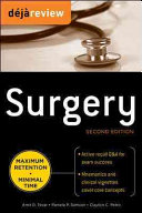 Deja Review Surgery  2nd Edition