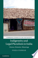 Indigeneity and Legal Pluralism in India