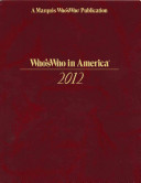 Who S Who In America 2012 book